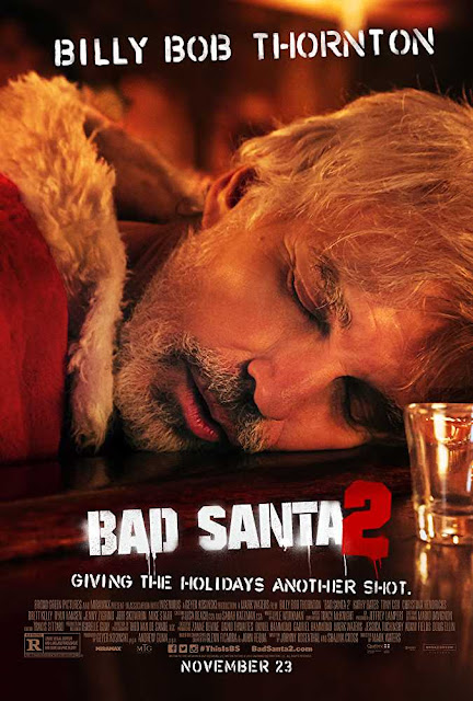 Poster Bad Santa 2 (2016) Full English Movie Download 720p UNRATED