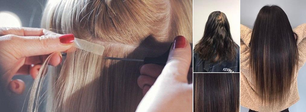 hiustenpidennys teippi