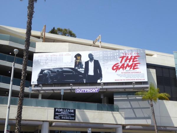 True to The Game movie billboard