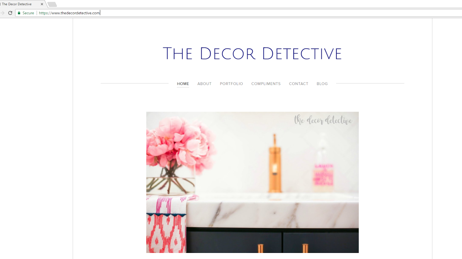 the decor detective