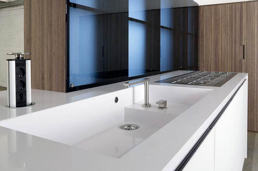 Fregaderos bajo encimera c modos y elegantes cocinas for Muebles de cocina para montar