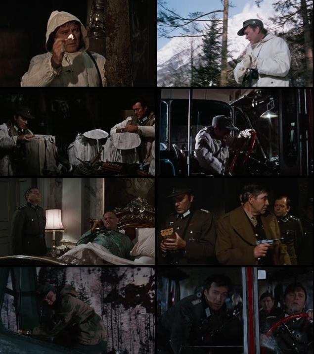 Where Eagles Dare 1968 Dual Audio Hindi 720p BluRay