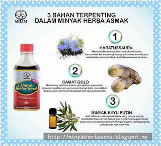 minyak herba asmak, minyak herba asma mujarab
