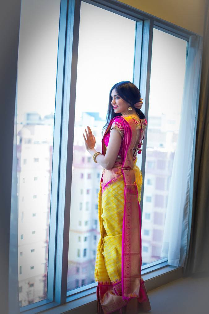 Adah Sharma Photoshoot For Saree Niketan