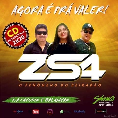 BANDA ZS4 - CD PROMOCIONAL 2K20