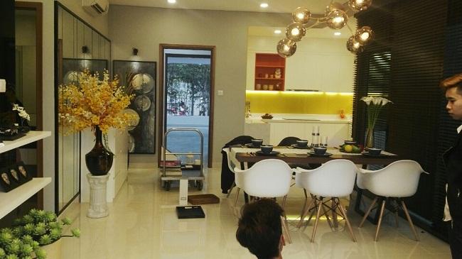 nhà mẫu Chung Cư The Two Residence Gamuda
