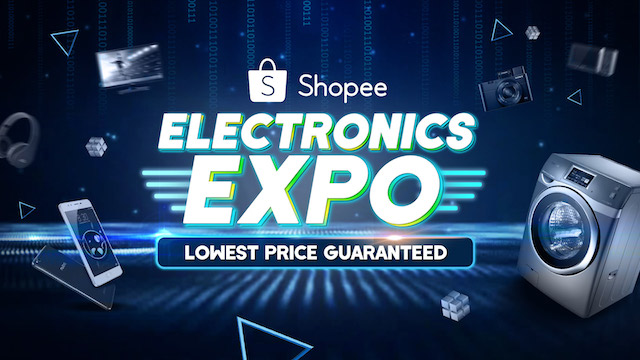 Shopee's Electronics Expo 2018 - Up to 90% Discounts on Over 1000 Electronic Products