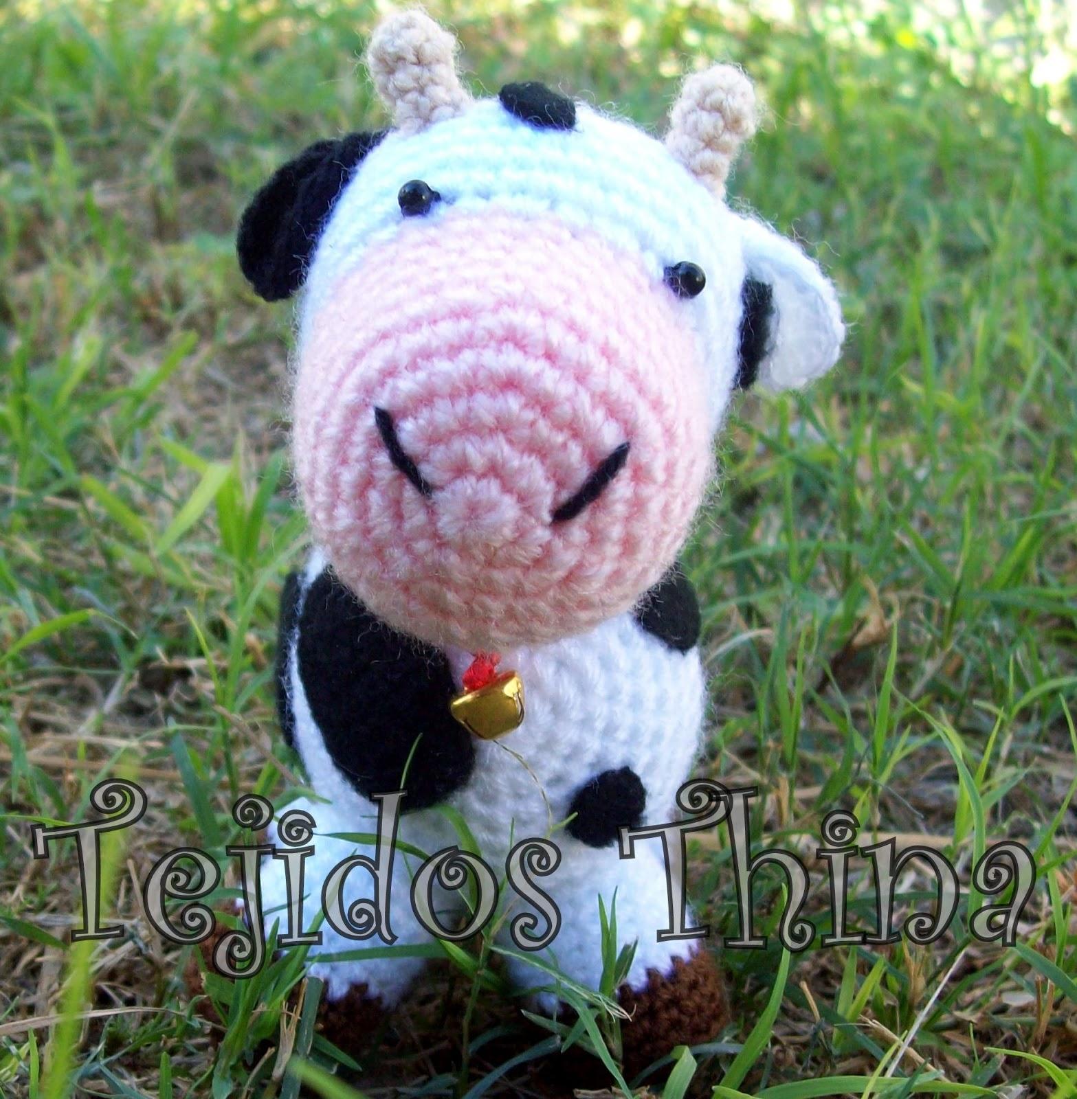 Galamigurumis Soy una Vaca: Patrón revisado - Galamigurumis | 1600x1567