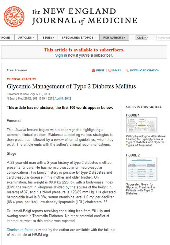 revisiones anuales de diabetes tipo 1