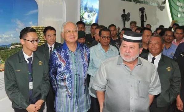 Najib Jawab Dakwaan Sultan Johor Tak Mahu Salam Dengannya