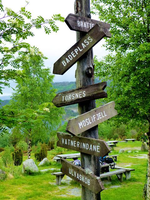 Otros senderos en la ruta al Preikestolen