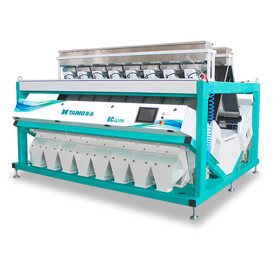 Color CCD Color Sorter of Large Capacities