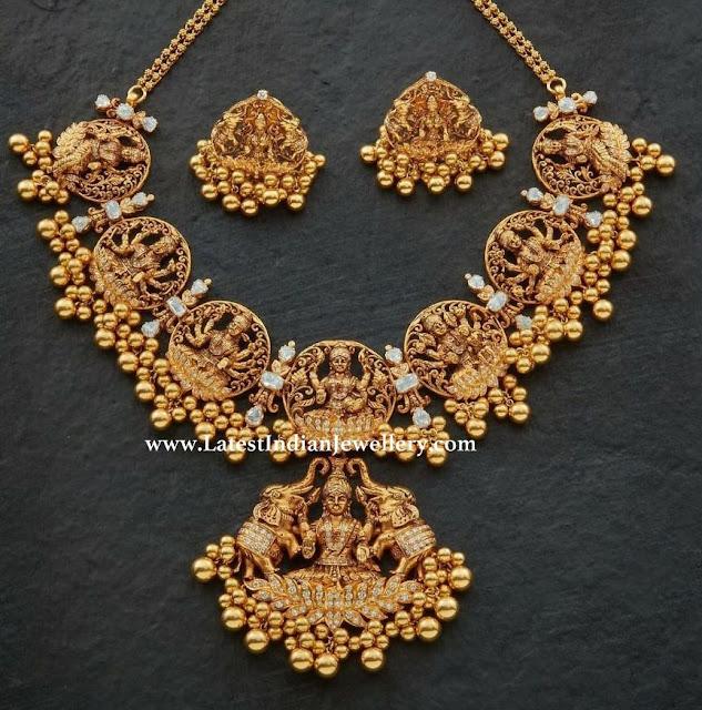 Ashta Lakshmi Necklace