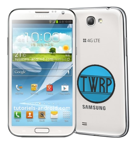 TWRP recovery - Galaxy Note 2 N7105