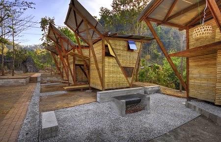 Econotas Com Orfanato Construido Con Bambu Arquitectura