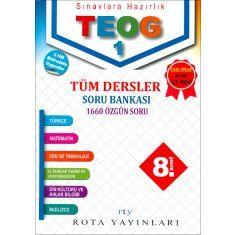 Rota Yayınları 8.Sınıf TEOG 1 Tüm Dersler Soru Bankası (2017)