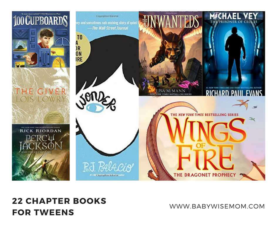 22 Chapter Books for Tweens