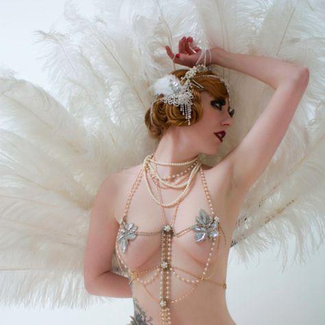 Vintage Burlesque Dancers