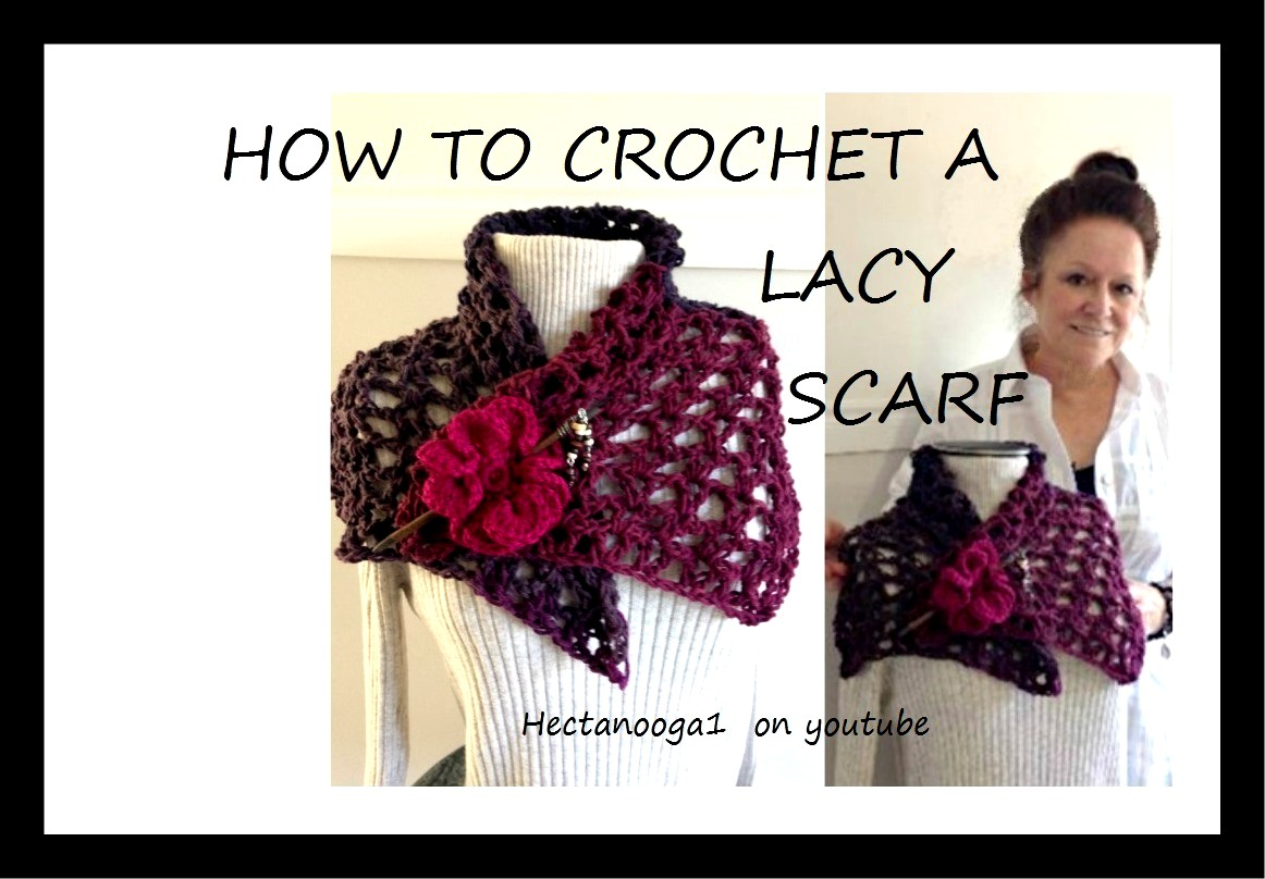 Hectanooga Patterns 2165 Easy Summer Scarf Pattern Free Crochet
