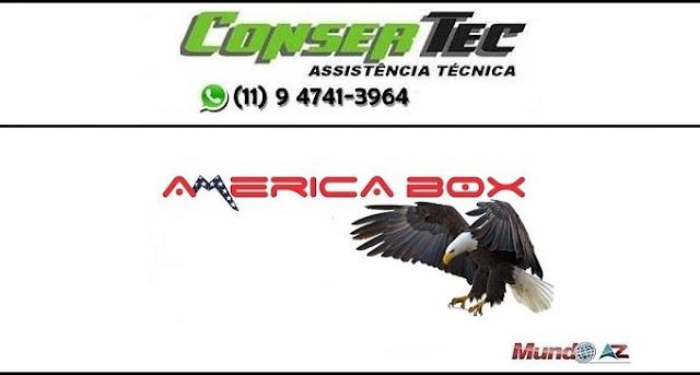 Nova atualização Americabox S205 Plus