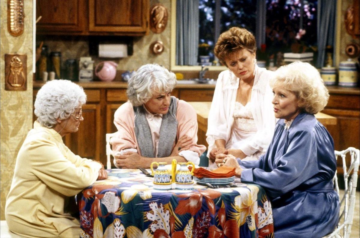 Sophia, Dorothy, Blanche y Rose, protagonistas de Las Chicas de Oro
