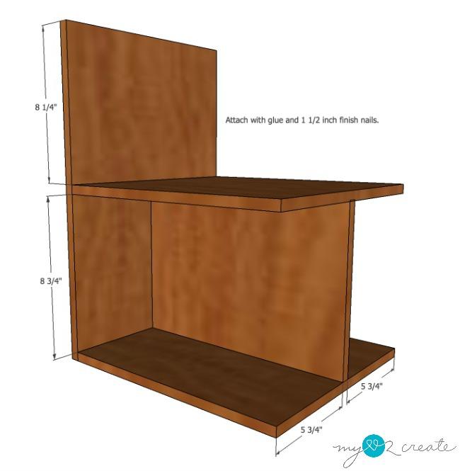 DVD storage drawers step 3