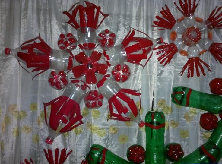 How to recycle cool recycled christmas lanterns for Cool recycled stuff