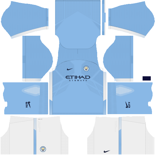 Manchester City 2017/18 Kits Leaked (DLS 17/FTS 15)