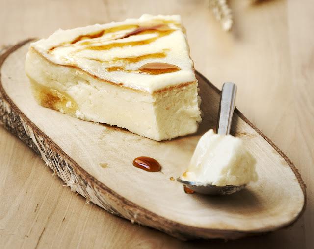 crême fraîche cheesecake