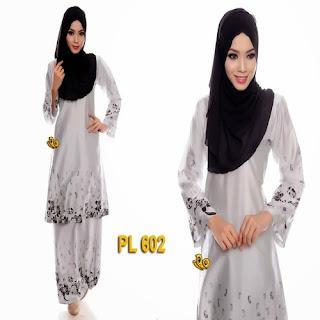model baju kurung batik modis