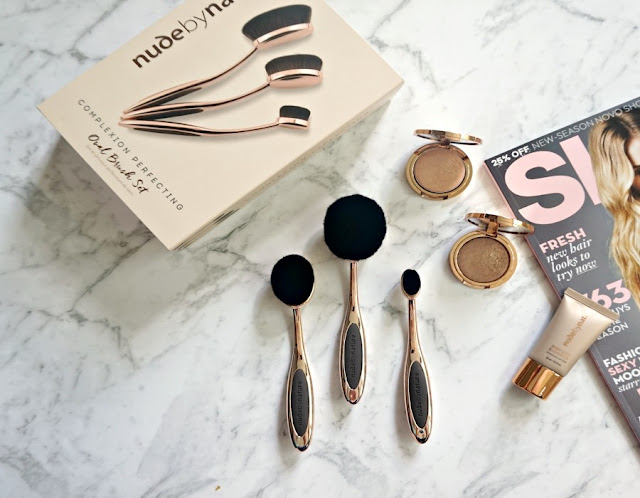 Nude By Nature Oval Brush Set Review
