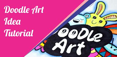 Cara Membuat Doodle art Bagi Pemula Tutorial Doodle Art