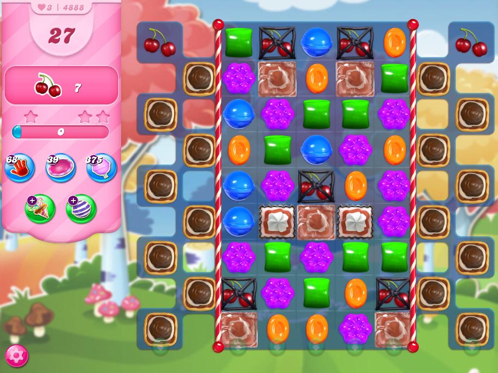 Candy Crush Saga level 4888