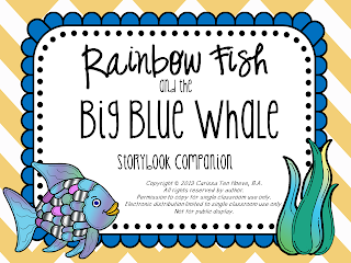 Rainbow Fish And The Big Blue Whale Can