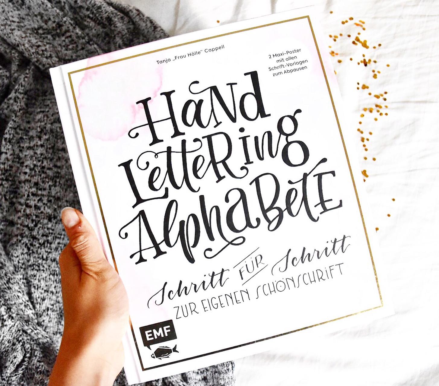 """Hand Lettering Alphabete - Tanja """"Frau Hölle"""" Cappell - herzgespenster"""