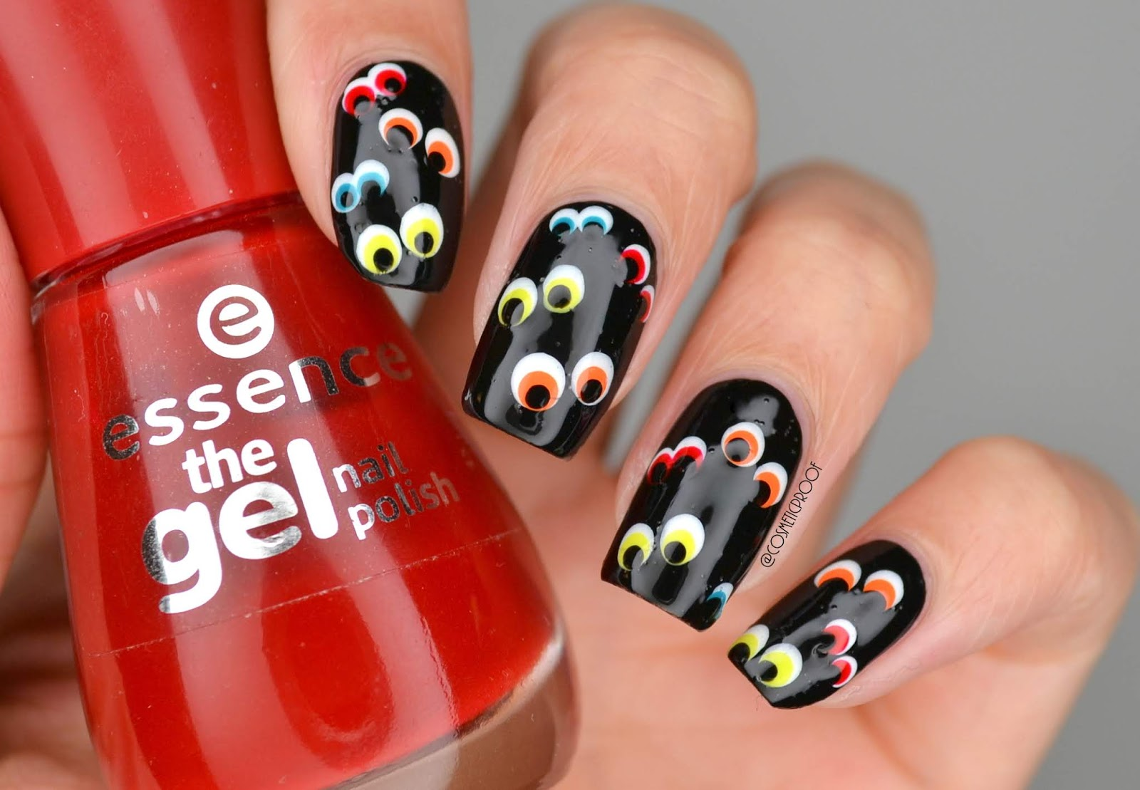 Nails The Eyes Have It Cbbxmanimonday Cosmetic Proof