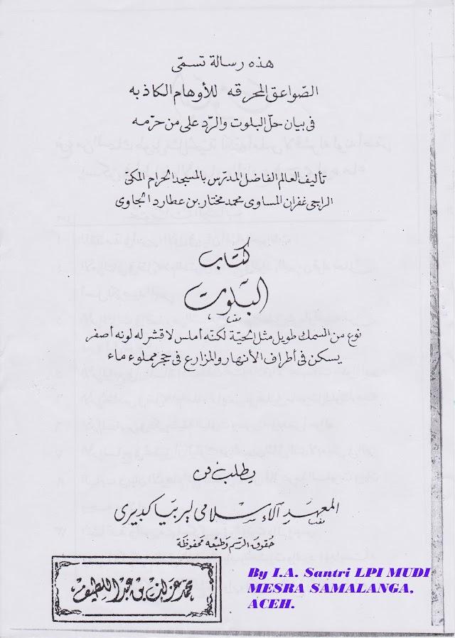 Download Kitab Shawa`iq Al Muhriqah/Kitab Belut