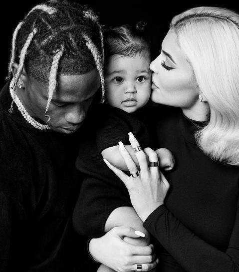 Kylie Jenner denies rumors of being pregnant again