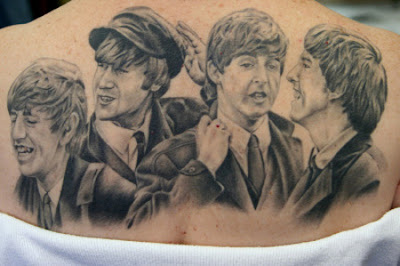 tatuaje de the beatles