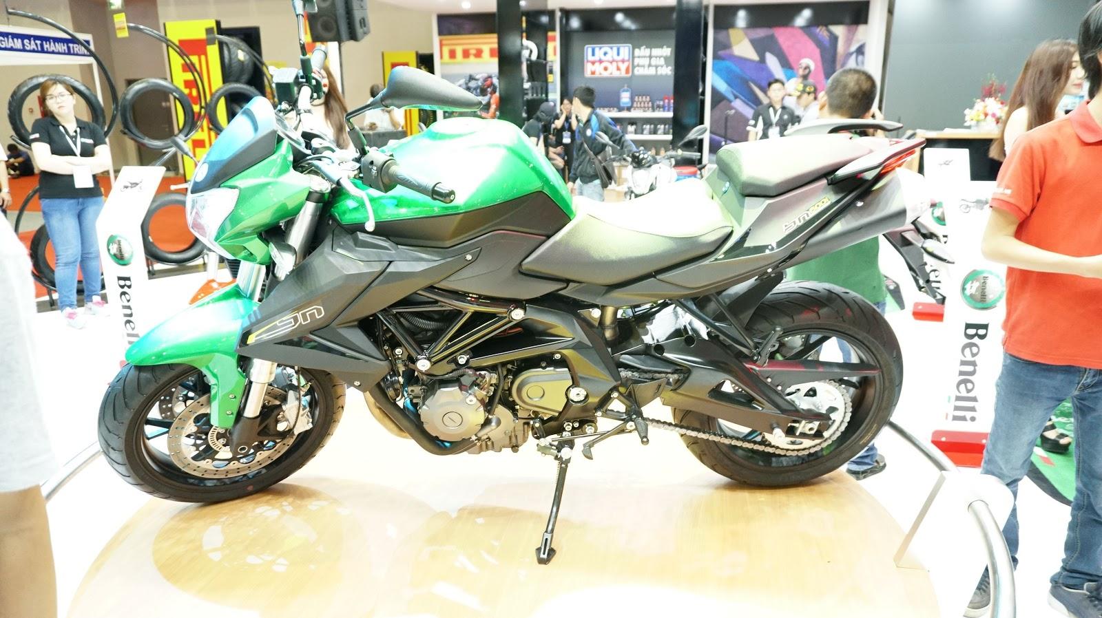 Benelli BN600i ABS là dòng xe nổi bật nhất tại Vietnam Motorcycle Show 2016 năm nay