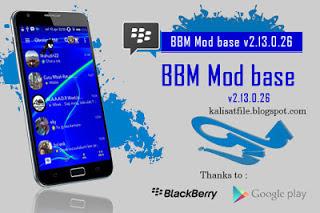 Free Download BBM Mod base v2.13.0.26 Terbaru 2016