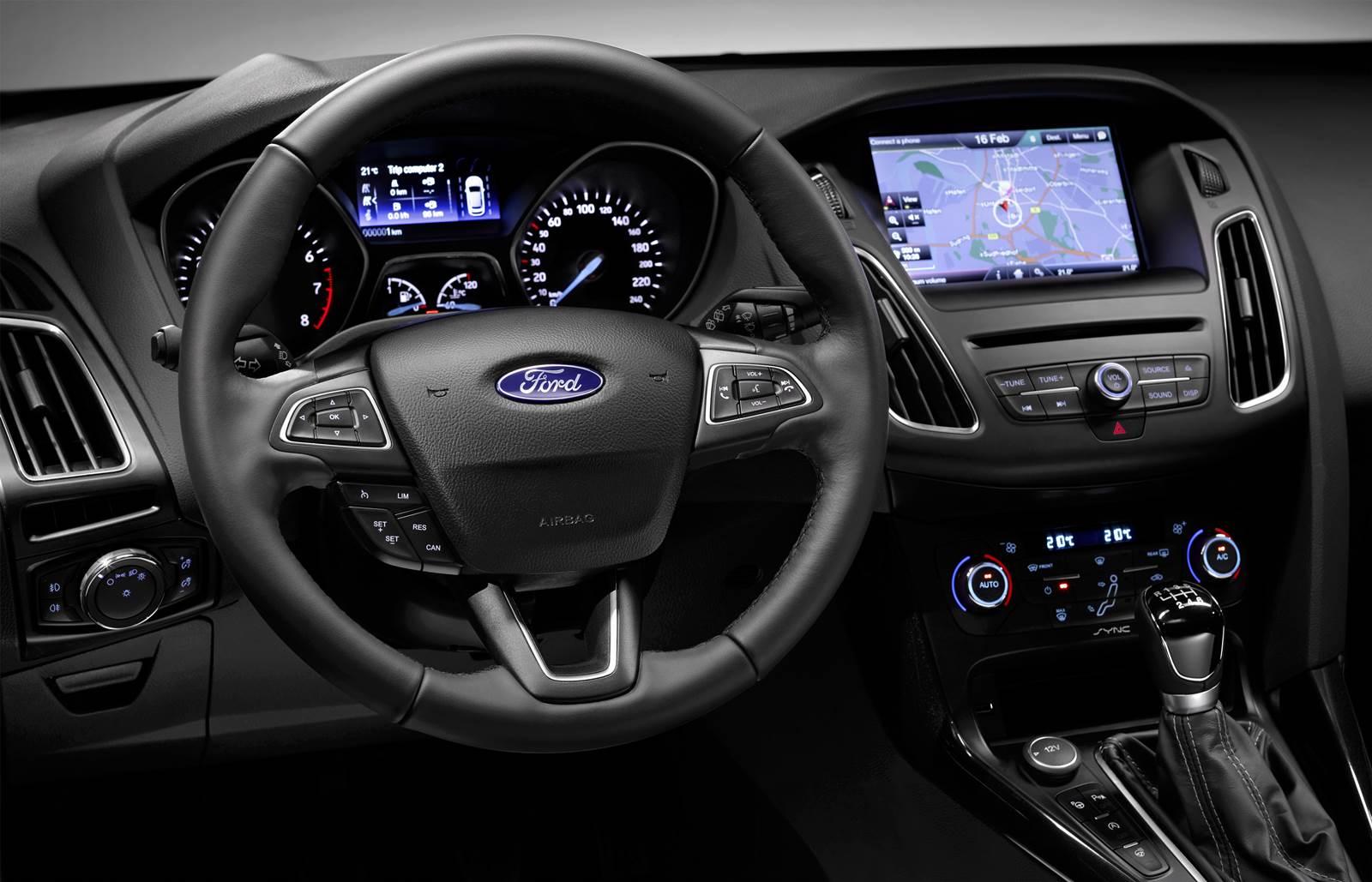 2014 Ford Focus Interior >> Novo Focus chega ao Brasil no primeiro semestre de 2015 | CAR.BLOG.BR