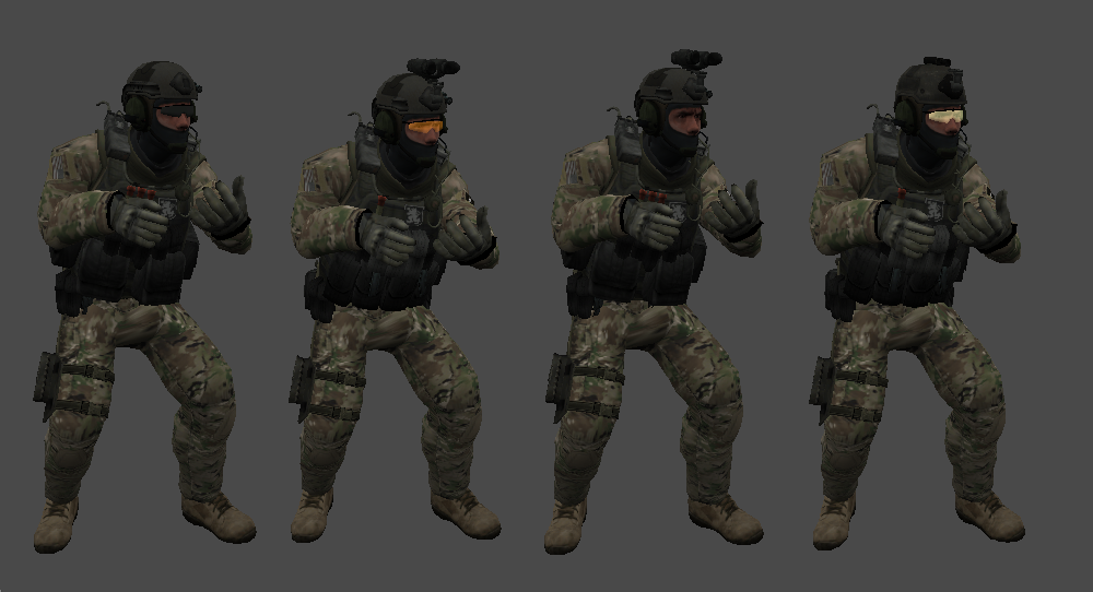 CSGO ST6 FOR CS 1 6/CZ - Counter Strike Character Skin
