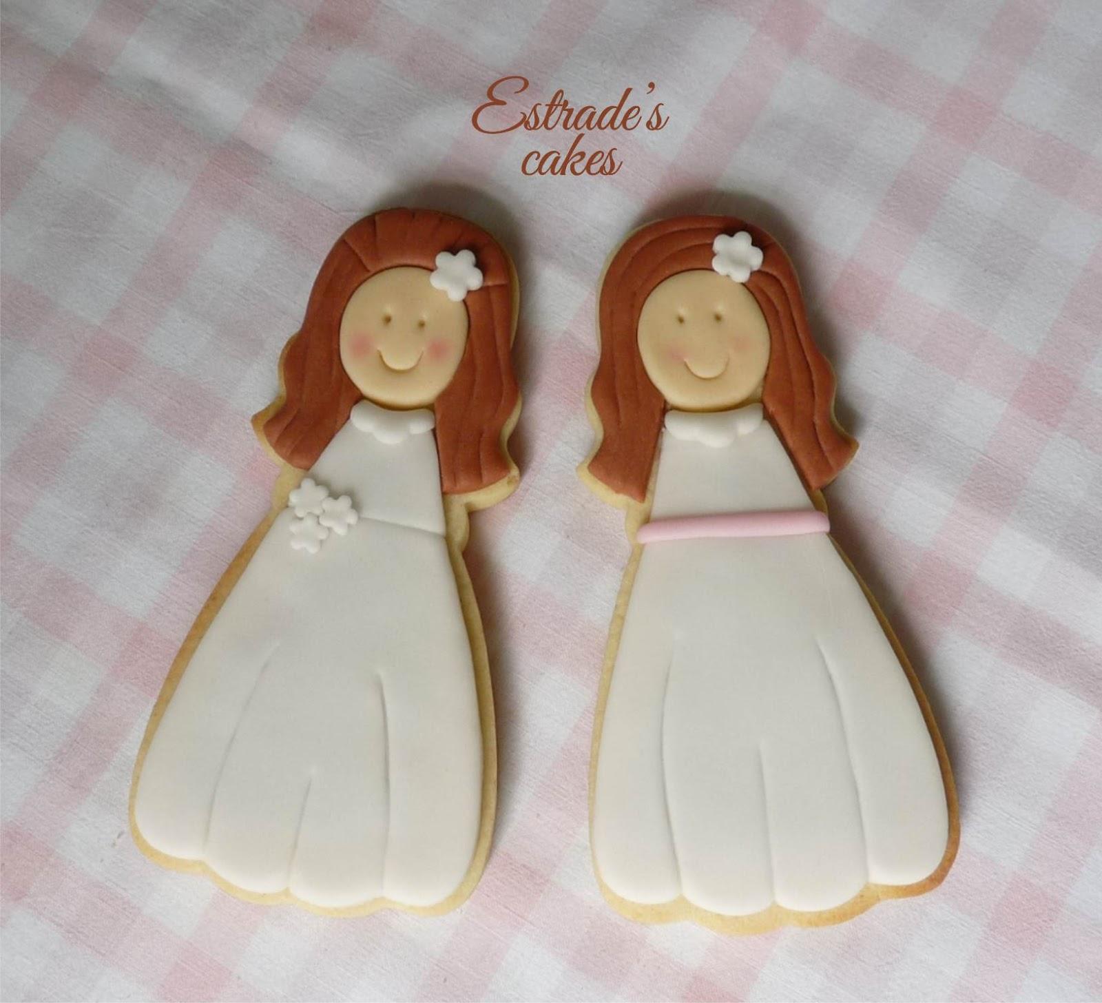 galletas para primera comunión - niña 1