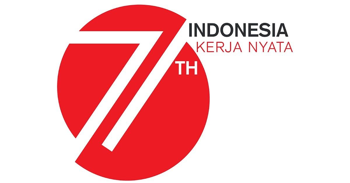 Inilah Logo Resmi HUT RI ke 71 Indonesia Kerja Nyata