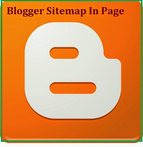 How to create sitemap for Blogger blog