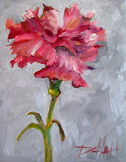 Painting of the Day, Daily Oil Paintings by Delilah: Round
