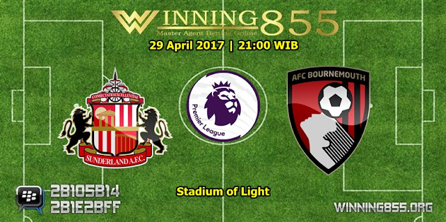 Prediksi Skor Sunderland vs AFC Bournemouth 29 April 2017