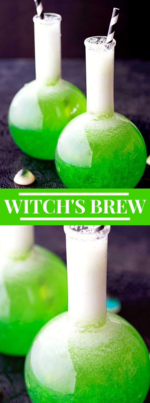 WITCH'S BREW #halloweendrink #cocktail