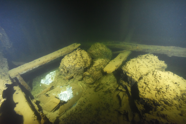 Divers find two centuries-old shipwrecks in the Baltic Sea